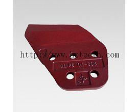 Ground engineering machinery parts 208-70-34160R(34170L) Side Cutter for Komatsu PC400 excavator