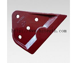 Ground engineering machinery parts 2322147/2322148 Side Cutter for Caterpillar E320D excavator