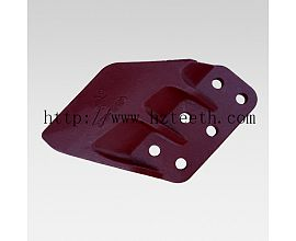 Ground engineering machinery parts 2713-1241L/2713-1242R Side Cutter for Daewoo DH420 excavator