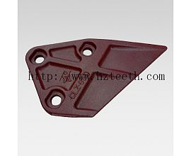 Ground engineering machinery parts CLZ-01I(D) Side Cutter for Hyundai R60 excavator