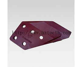 Ground engineering machinery parts 2413N289D1(D2) Side Cutter for Kobelco SK230 excavator